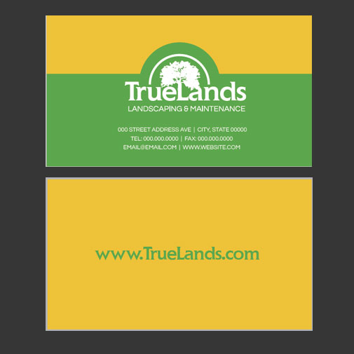tl business card